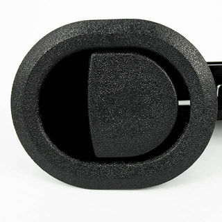 Pull Release Recliner Handle Plastic Round BLACK