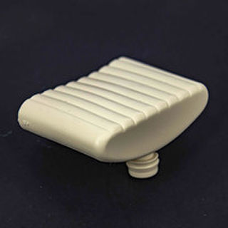 Slat Holder Single Pin 53mm Ivory